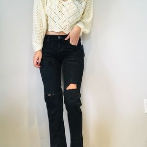 NWT One Teaspoon distressed awesome baggies jeans